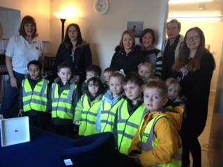 Braehead Nursery Visits Brooks Carter Clinic